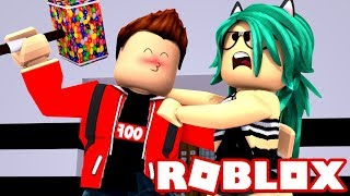 THE BEAST FALLS IN LOVE WITH ME! HUYE & QUICK HACKEA in ROBLOX (Flee The Facility) 😱