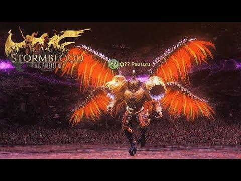 Final Fantasy XIV Stormblood   Eureka Anemos - Fafnir & Pazuzu