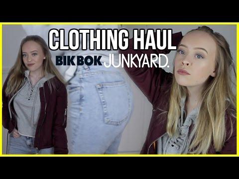 INNKJØP + UNBOXING :: Junkyard, Urban & BikBok