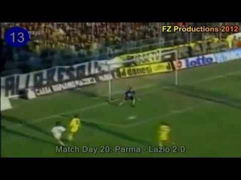 Faustino Asprilla - 26 goals in Serie A (Parma 1992-1999)