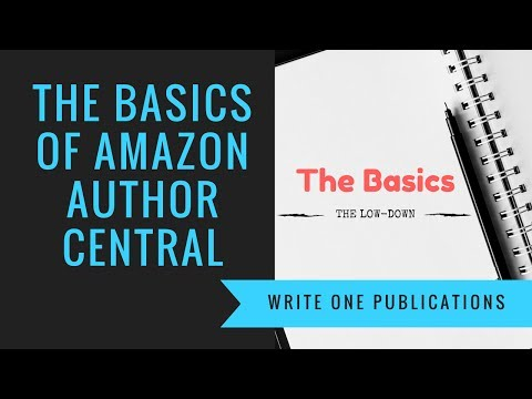 Amazon Author Central – Visibility On Amazon Author Page