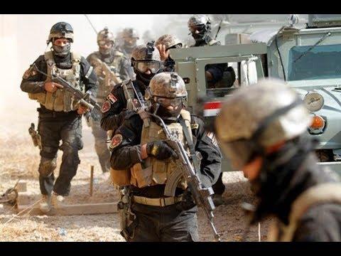 عمليات مطاردة فلول داعش بصحراء الأنبار
