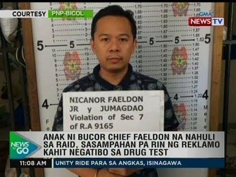 Anak ni Chief Faeldon na nahuli sa raid, sasampahan pa rin ng reklamo kahit negatibo sa drug test