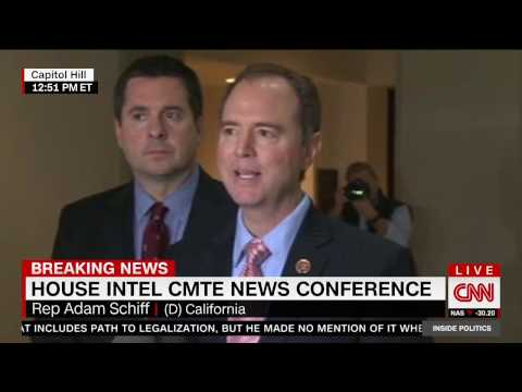 Rep. Schiff Press Conference After Briefing with FBI Director