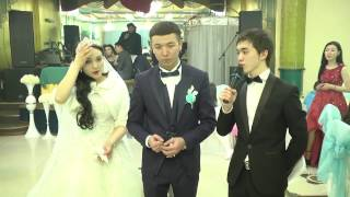 "Адлет Асанов - Асаба - шоумен (Астана ""Төлеп"" мейрамханасы,үйлену той)"