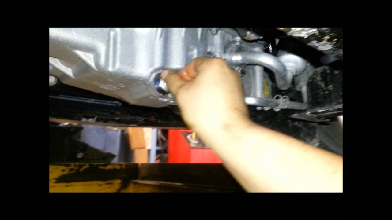 2012 Ford Focus Oil Change Youtube
