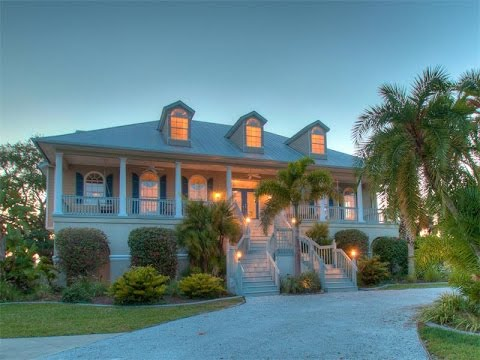 Magnificent key west style home in cape haze florida for Key west style homes