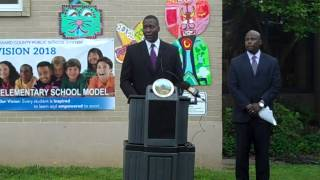 Dr. Calvin Ball:  New Howard County Elementary School Model Inspires, Engages Students