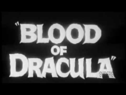 Blood of Dracula trailer