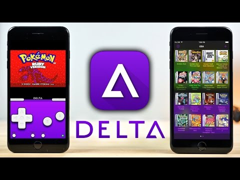 Delta - New ALL In One Emulator (GBA, N64, SNES & GBC)