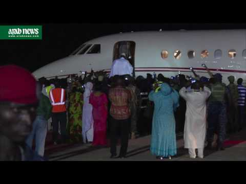 Gambia's Yahya Jammeh leaves power after 22 years