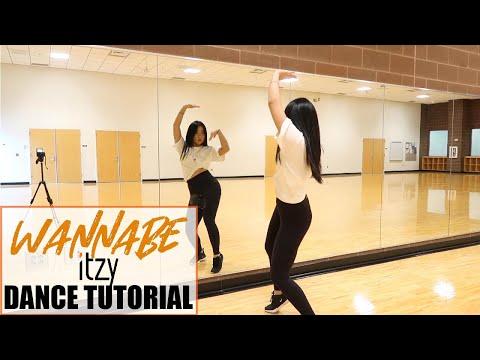 "ITZY ""WANNABE"" Lisa Rhee Dance Tutorial"