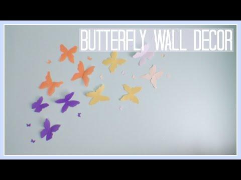 DIY // Butterfly Wall Decor