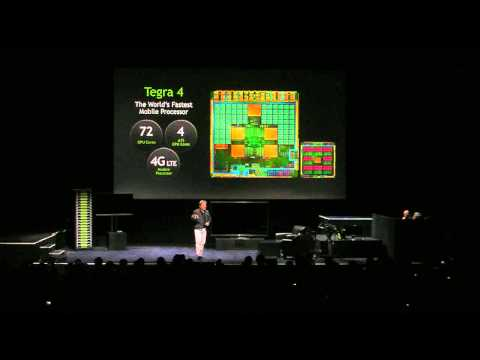 NVIDIA Press Conference - Tegra 4 - at CES 2013 (Part 3)