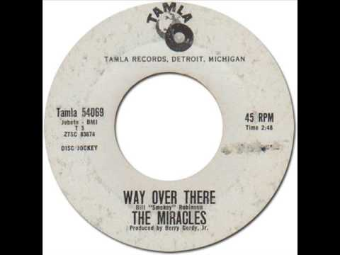 The Miracles - Way Over Thereの歌詞 - JA