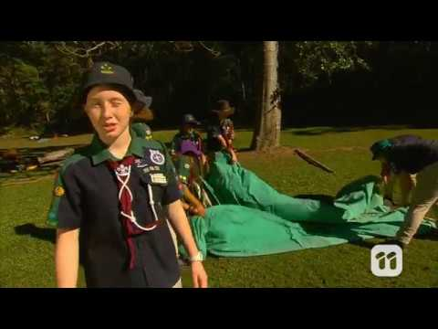 Totally Wild - Scouts Tent Building