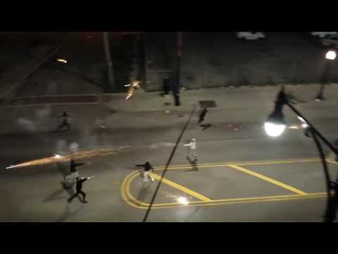 Chicago gang street shooting