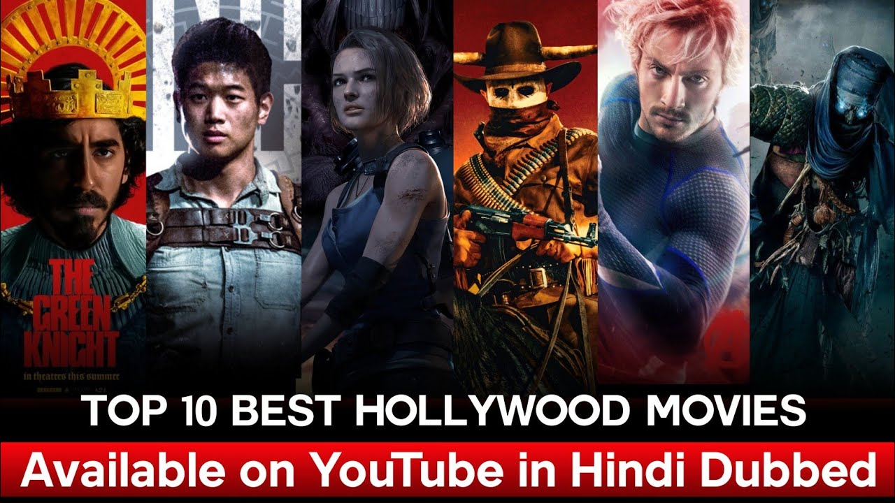 Top 10 Action & Advanture Hollywood Movies Available on YouTube in Hindi   Movies Hunt