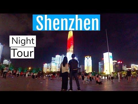 Shenzhen China City Night Tour