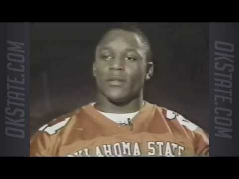 Barry Sanders wins the Heisman Trophy