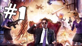 Saints Row 4 Walkthrough Part 1 *SPOILERS* Gameplay Review Let