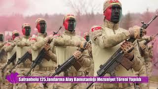 Safranbolu 125.Jandarma Alay Komutanlığı Mezuniyet Töreni 08.02.2019