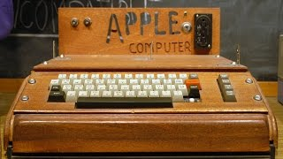 "The Original Apple Computer ""Apple I"" in 1976."