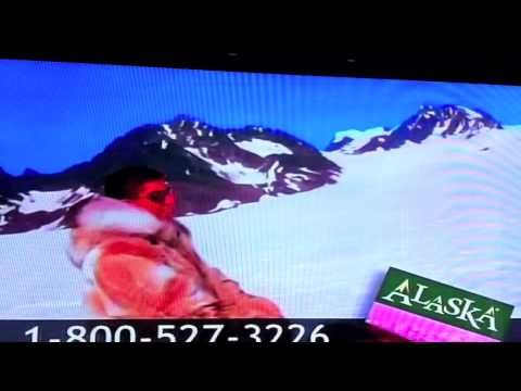 Alaska tourism commercial with Jeff