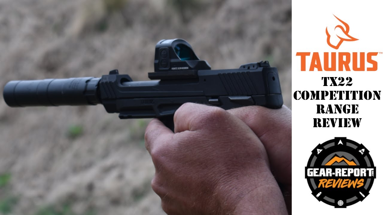 Taurus TX22 Competition Optics Ready Pistol Range Review
