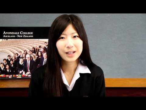 Marina from Japan talks about studying at Avondale College, NZ