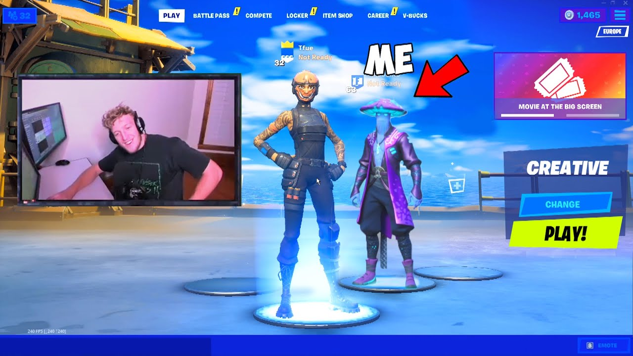 I joined Youtubers Lobbies with ENCRYPTED Skins!