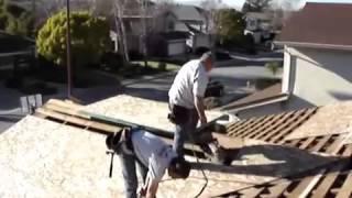Installing Plywood On Roof - Sesa Plywood +90 312 350 49 81 Www.sesaplywood.com