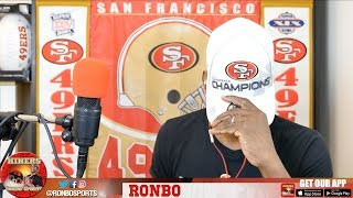 Ronbo Sports In Yo Face, At Yo Place Watching The Game! 49ers VS Saints 2016 Week 9 NFL
