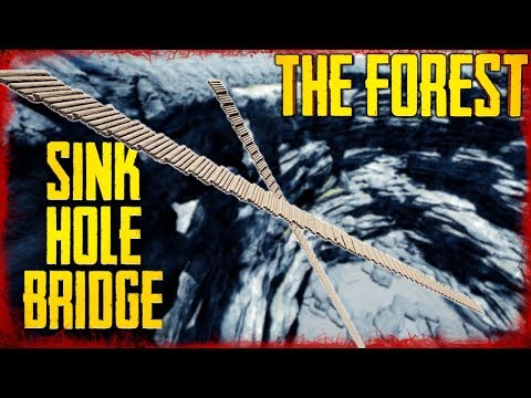 BRIDGE TO THE BOTTOM OF THE SINKHOLE | The Forest