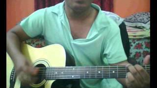 Bheegi Bheegi raaton mein Guitar Chords/Lesson