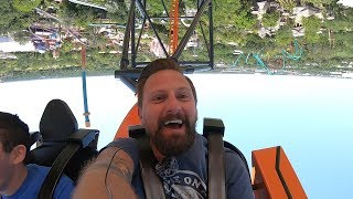 A Trip To Busch Gardens To Ride Tigris! | Roller Coaster POVs, Reactions, & More!