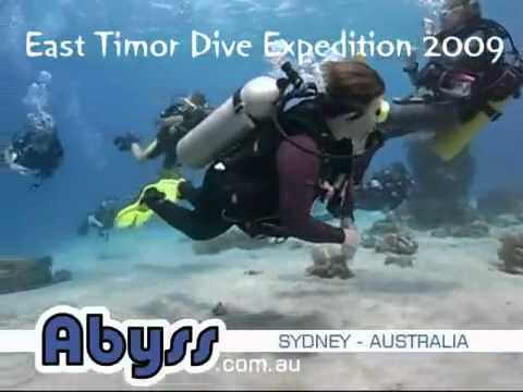 Dive expedition to East Timor