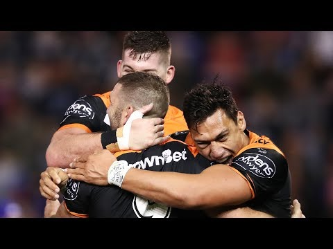 NRL Highlights: Newcastle Knights v Wests Tigers - Round 21