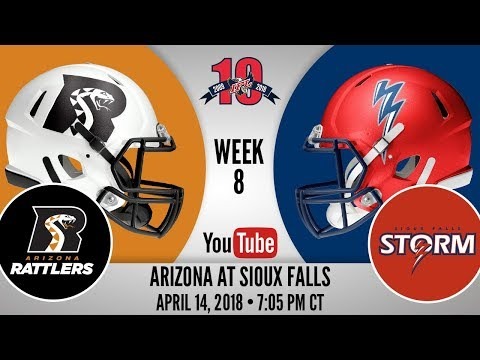 Week 8 | Arizona Rattlers at Sioux Falls Storm