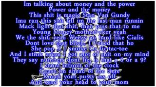 Lil Wayne Sorry For The Wait [ Lyrics ] 2011!