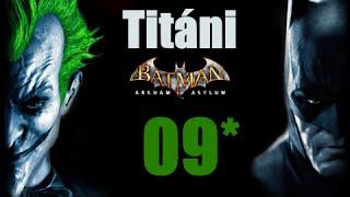 CZ tit. | Let's Play | Batman: Arkham Asylum | #09 | HARD | 1080p