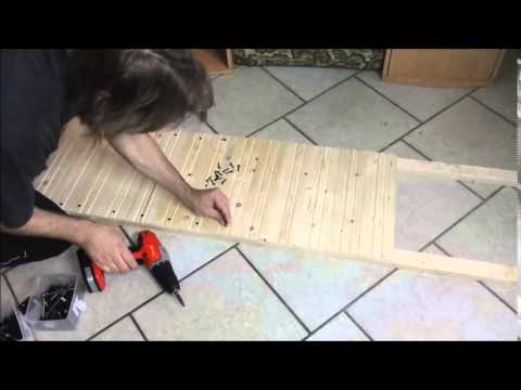 hunderampe in 20 min selbst gebaut f r unter 10 euro youtube. Black Bedroom Furniture Sets. Home Design Ideas