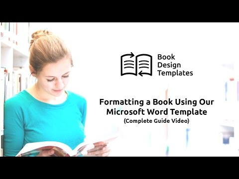 microsoft word templates book