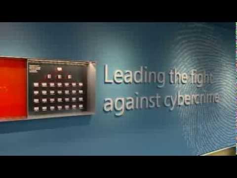 B Roll - Microsoft Cybercrime Center Unveiled