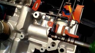 Un eclatée du moteur Renault Cleon