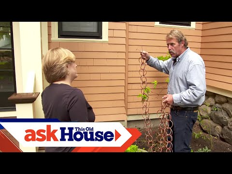 How to Install a Rain Chain | Ask This Old House