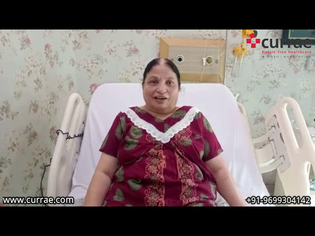 Pt. Poonam Gwalani   GynaecSurgery   Dr. Neena Nichlani   Currae hospitals