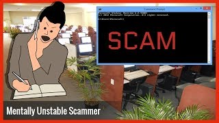 Tech Scammer Lady Is Mentally Unstable After Failed Scam