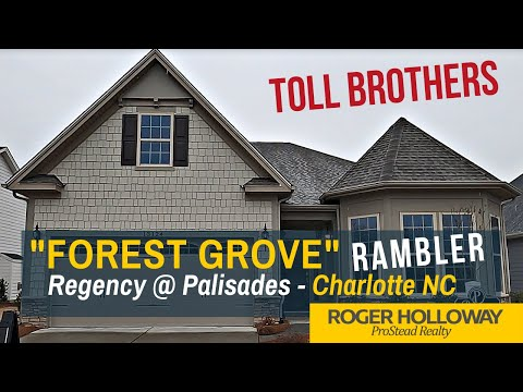 Luxury Ranch Home From Toll Brothers [Regency At Palisades NC]