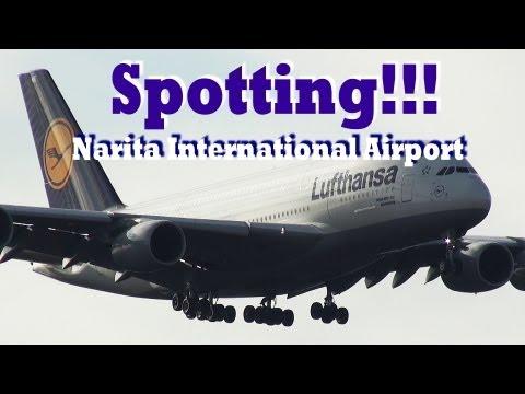 【FHD】96機の世界の飛行機たち!!! 成田空港 Narita International Airport spotting!!!